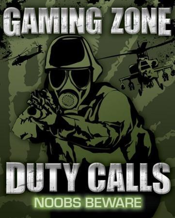 Gaming Zone - Duty Calls