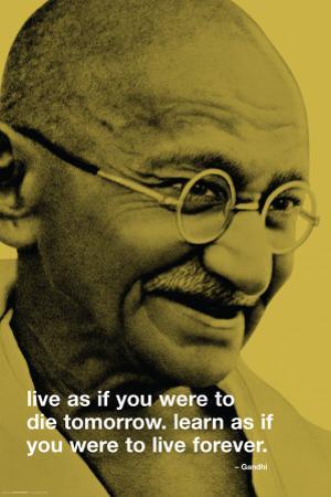 Gandhi-Live Forever