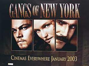 Gangs of New York (Leonardo Dicaprio, Cameron Diaz, Daniel Day Lewis) Movie Poster