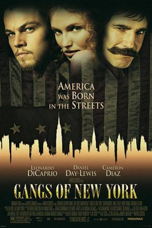 Gangs of New York - One Sheet Movie Poster