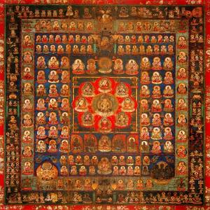 Garbhadhatu Mandala, 8th-9th Century