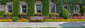 Garden at Niagara Parks School Of Horticulture, Niagara Falls, Ontario, Canada