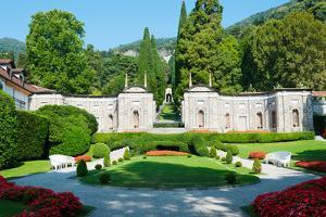 Garden at Villa D'Este Hotel, Cernobbio, Lake Como, Lombardy, Italy