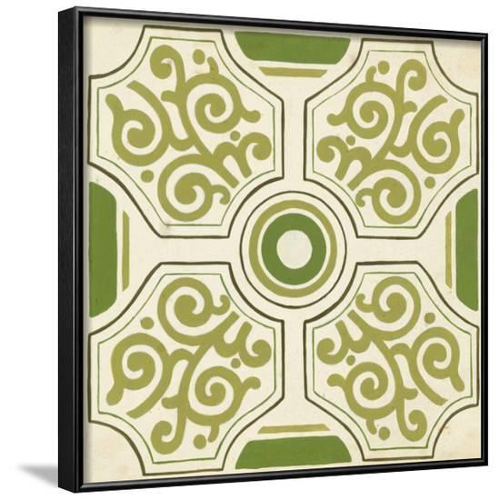 Garden Motif IX--Framed Art Print