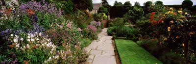 Garden of a Castle, Crathes Castle, Aberdeenshire, Scotland