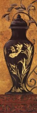 Golden Urn II by Garden Street Gallery