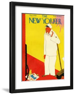 The New Yorker Cover - August 3, 1929 by Gardner Rea