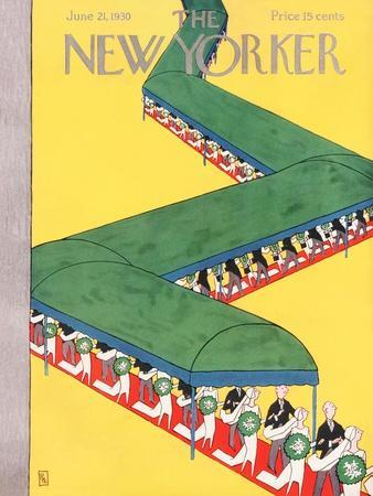 The New Yorker Cover - June 21, 1930