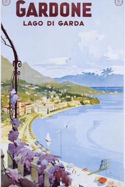 Gardone Lago Di Garda Poster