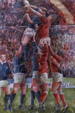 Rugby International, Wales V Scotland by Gareth Lloyd Ball