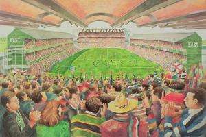 Twickenham: the Pilkington Cup Final, 1992 by Gareth Lloyd Ball