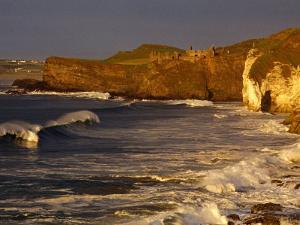 14th Century Dunluce Castle on Coastal Cliffs, Antrim, Northern Ireland by Gareth McCormack