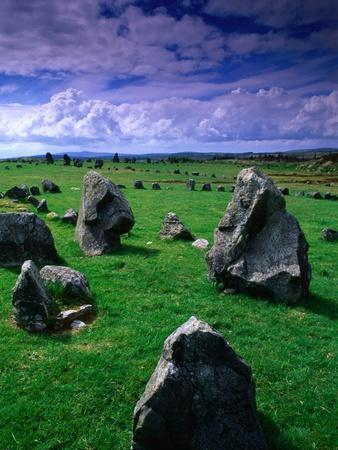 Beaghmore Stone Circles from the Bronze Age, Tyrone, Northern Ireland