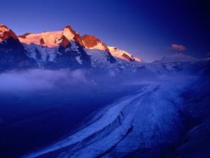 Grossglockner Rising Above Pasterze Glacier, Hohe Tauren National Park, Salzburg Province, Austria by Gareth McCormack