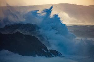 Storm Waves on the Coast of Achill Island, County Mayo, Ireland by Gareth McCormack