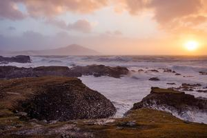 Stormy Evening on the Coast of Achill Island, County Mayo, Ireland by Gareth McCormack