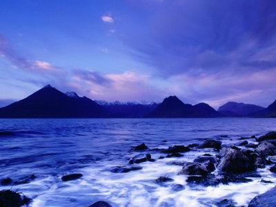 The Black Cuillin Mountains, Isle of Skye, Scotland