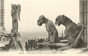 Gargoyles and Angel of Justice