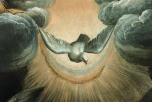 The Annunciation (Dove Detail) by Garofalo