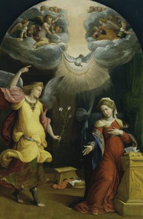 The Annunciation by Garofalo