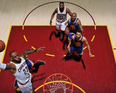 2017 NBA Finals - Game Four by Garrett Ellwood