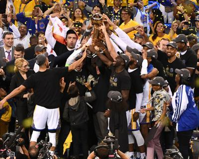 2017 NBA Finals - Warriors Win Championship by Garrett Ellwood