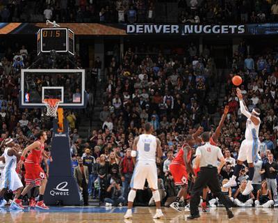 Chicago Bulls v Denver Nuggets: Carmelo Anthony by Garrett Ellwood