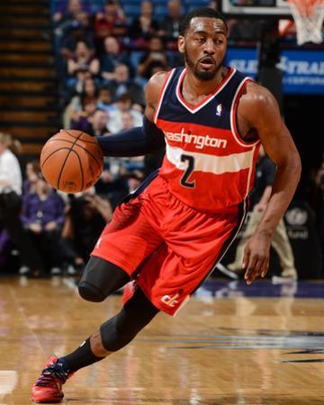 Mar 18, 2014, Washington Wizards vs Sacramento Kings - John Wall by Garrett Ellwood