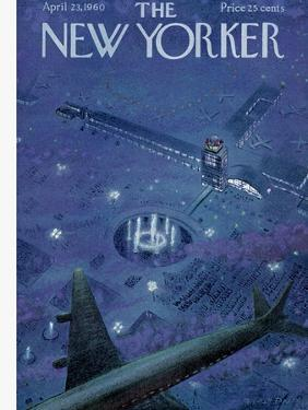 The New Yorker Cover - April 23, 1960 by Garrett Price