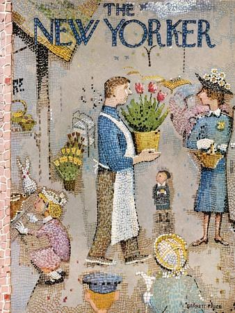 The New Yorker Cover - April 5, 1958