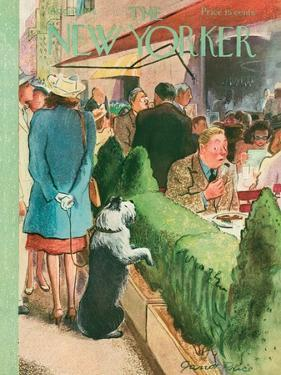 The New Yorker Cover - August 17, 1946 by Garrett Price