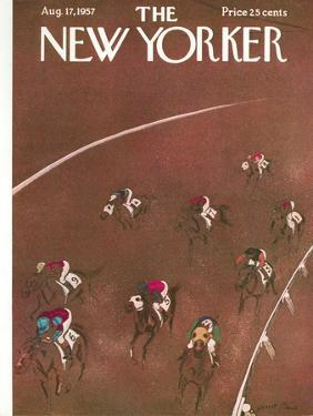 The New Yorker Cover - August 17, 1957 by Garrett Price