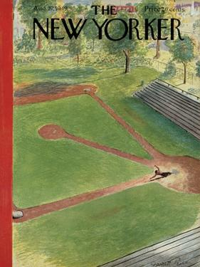 The New Yorker Cover - August 27, 1949 by Garrett Price