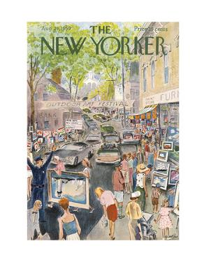The New Yorker Cover - August 29, 1959 by Garrett Price