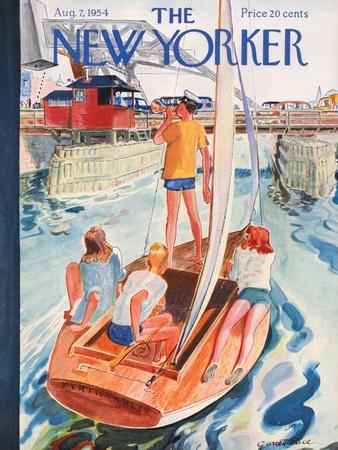 The New Yorker Cover - August 7, 1954