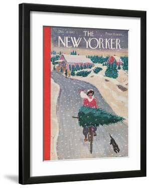 The New Yorker Cover - December 19, 1942 by Garrett Price