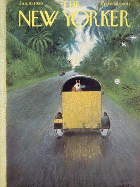 The New Yorker Cover - January 10, 1959 by Garrett Price