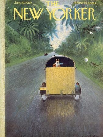 The New Yorker Cover - January 10, 1959