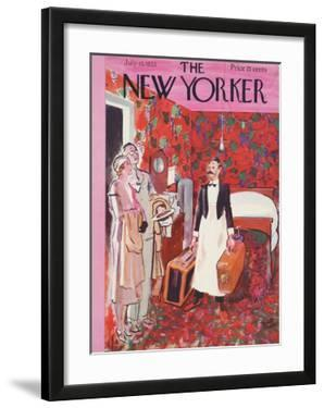 The New Yorker Cover - July 15, 1933 by Garrett Price