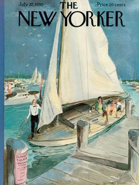 The New Yorker Cover - July 22, 1950 by Garrett Price