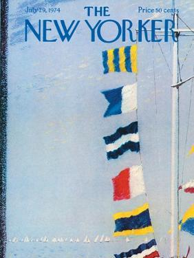 The New Yorker Cover - July 29, 1974 by Garrett Price