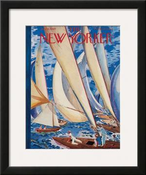 The New Yorker Cover - July 9, 1949 by Garrett Price