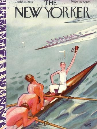 The New Yorker Cover - June 15, 1935