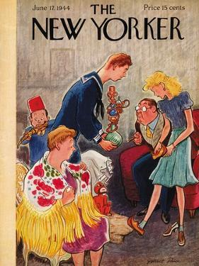 The New Yorker Cover - June 17, 1944 by Garrett Price