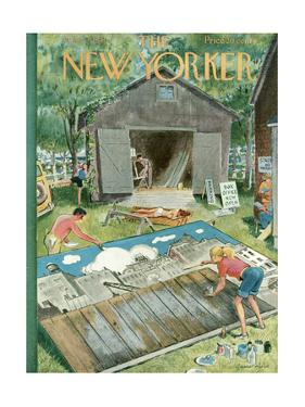 The New Yorker Cover - June 2, 1951 by Garrett Price