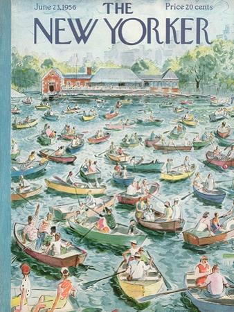 The New Yorker Cover - June 23, 1956 by Garrett Price