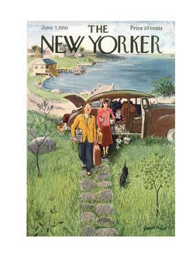 The New Yorker Cover - June 3, 1950 by Garrett Price