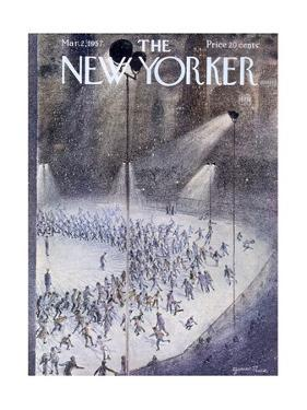 The New Yorker Cover - March 2, 1957 by Garrett Price