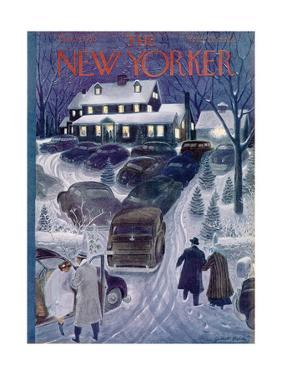 The New Yorker Cover - March 4, 1950 by Garrett Price