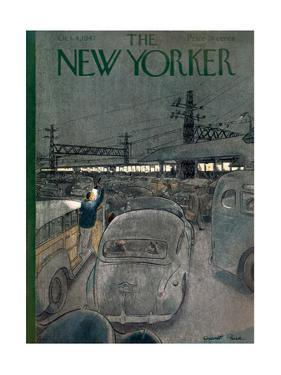 The New Yorker Cover - October 4, 1947 by Garrett Price